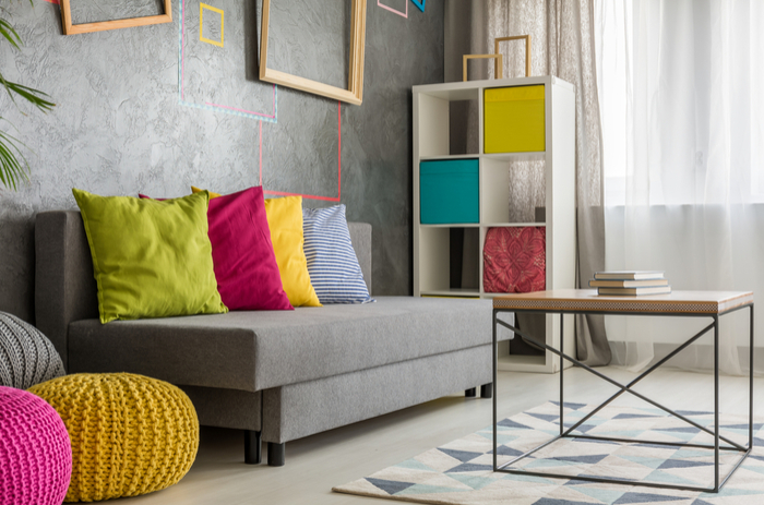 colourful home décor