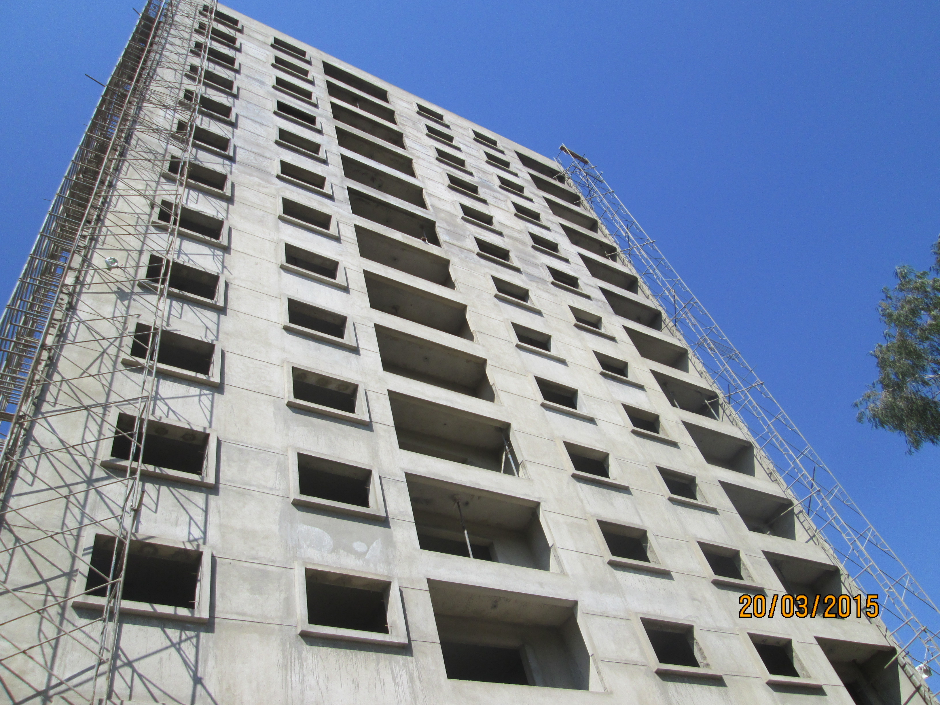 Valmark Aastha 3 BHK Residential Apartments Construction Image