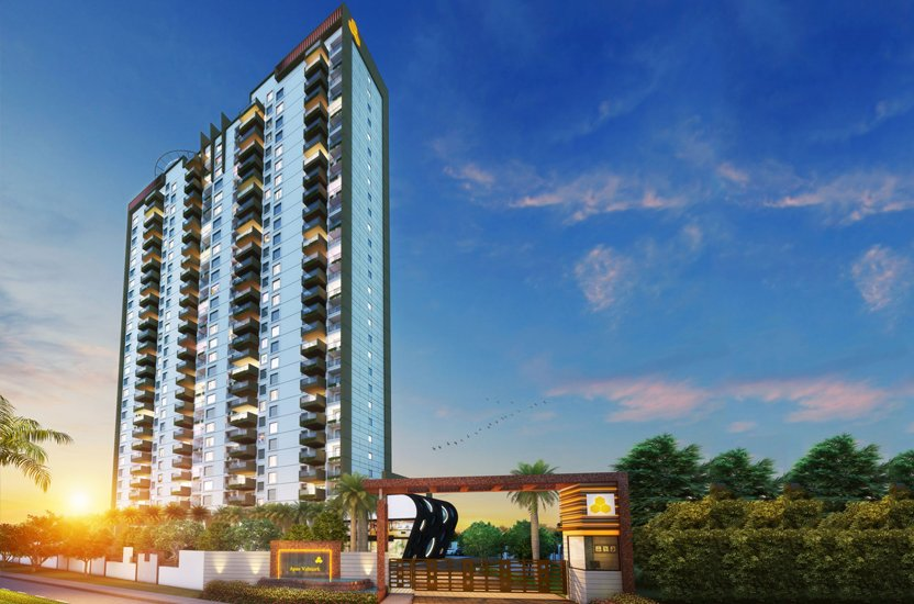 APAS Apartments Front View - Ultra Luxury Apartments in Bannerghatta Road