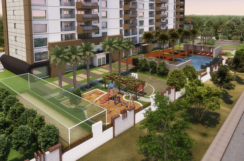 APAS Residential Apartments Garden Overview