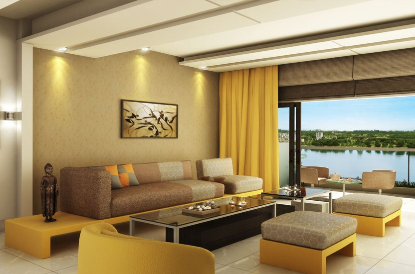 APAS Living Room - 5bhk Apartments in Bannerghatta Road