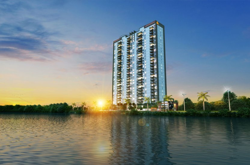 APAS Luxury Residential 4 & 5 BHK Apartments Side View