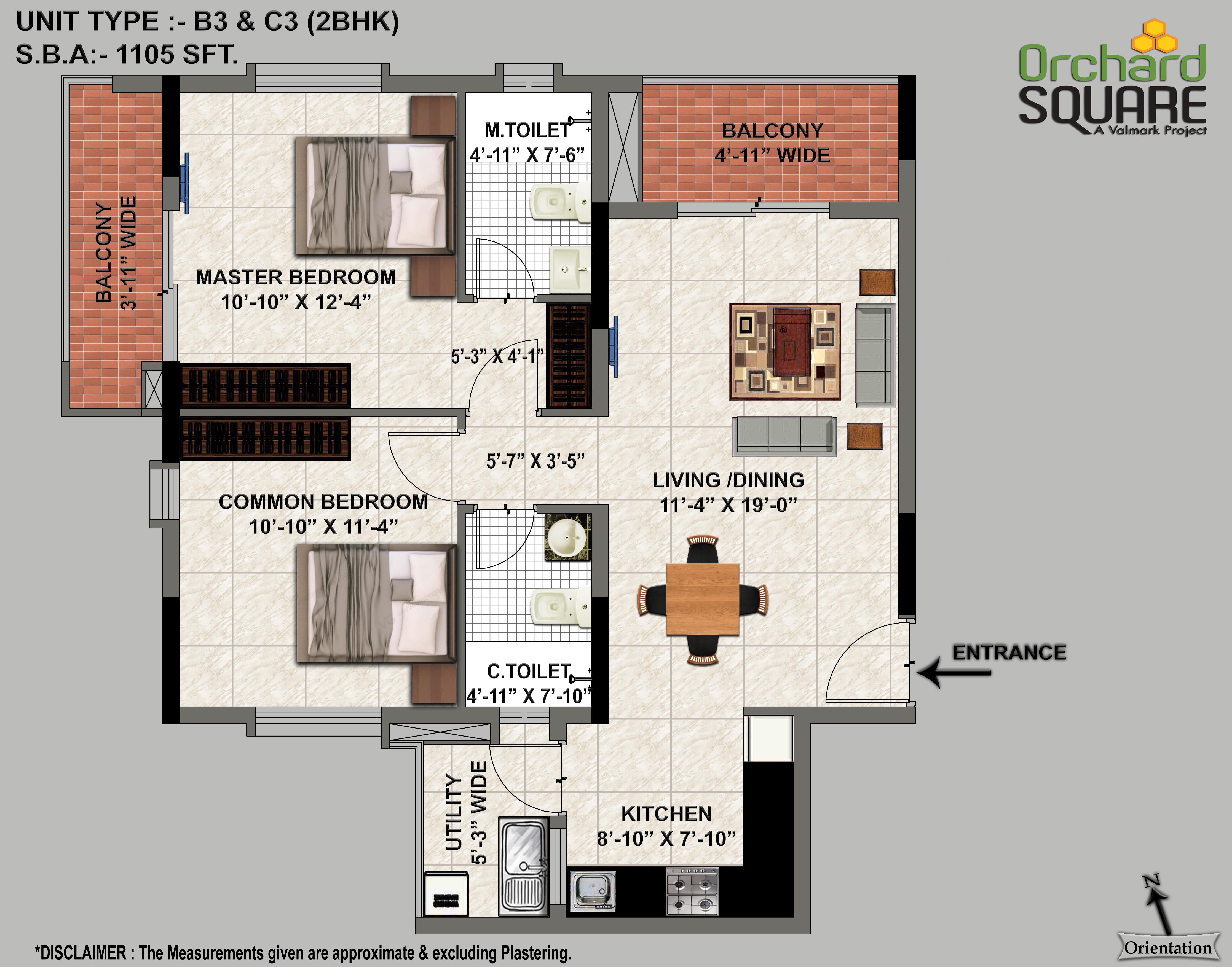 2 bhk apartments for sale in jp nagar bangalore