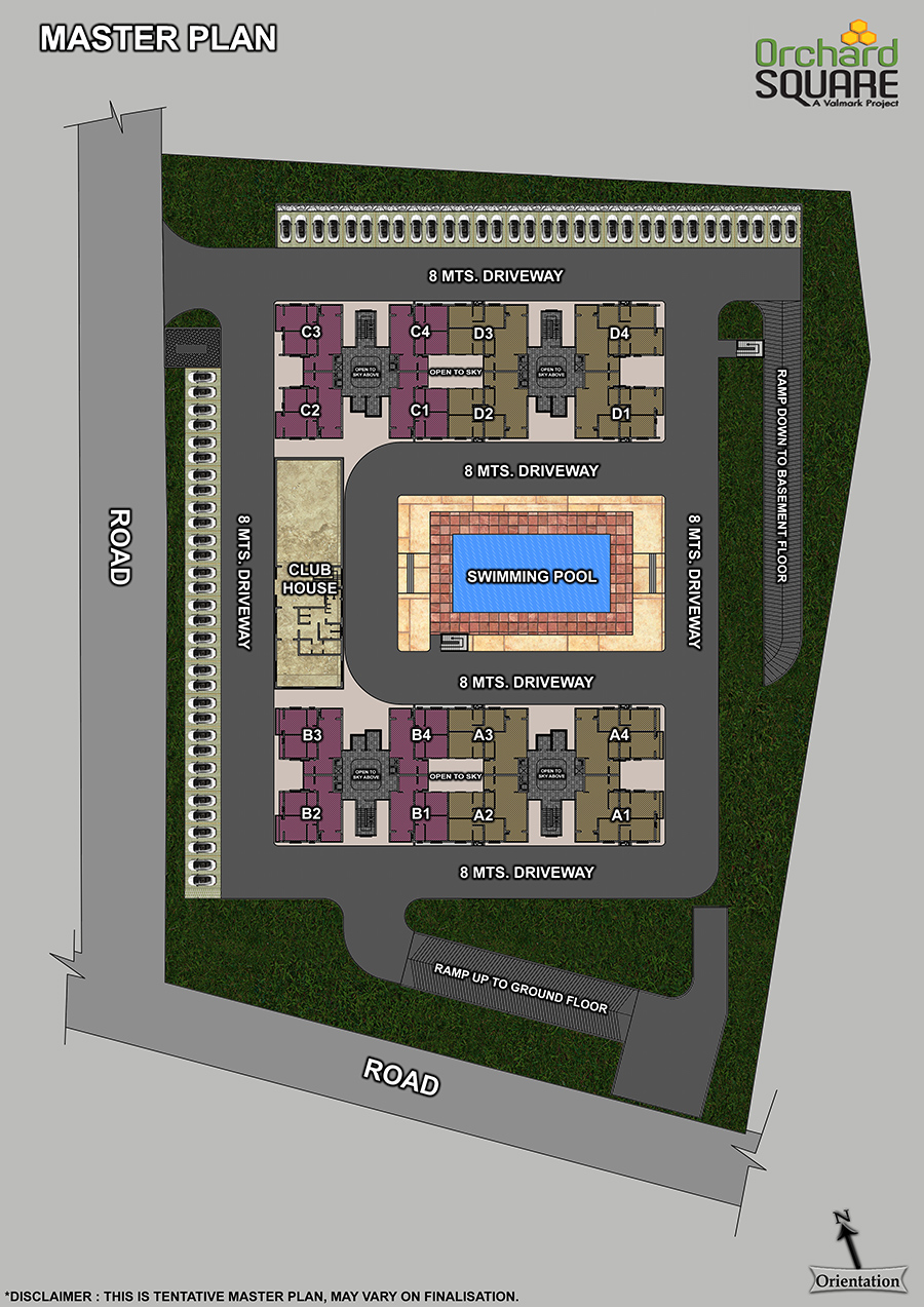Orchard Square Master Plan, Newly launched apartments in south bangalore